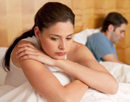 Переспала с бывшим мужем.