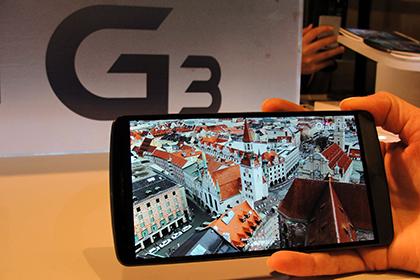 LG представила в России смартфон с беспроводной зарядкой