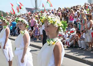 Масштабное празднование Дня Независимости Беларуси начнется уже 1 июля