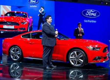 Ford Mustang дебютировал в России на Московском автосалоне (фото)