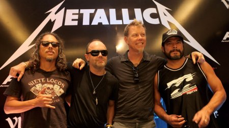 Приедет ли Metallica в Минск? Организаторы: «Концертов в Беларуси больше то ...
